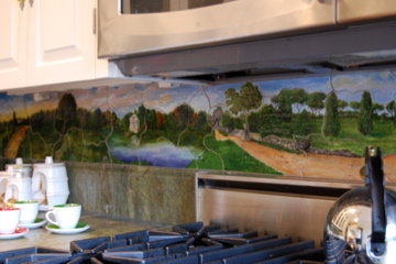 Villa Borghese - tile backsplash2