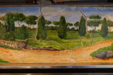 Villa Borghese - tile backsplash5