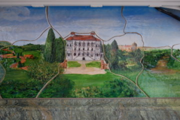 Villa Borghese - tile backsplash6