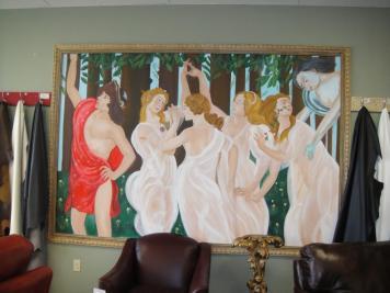 boticelli mural