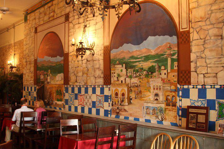 Marrakesh Cafe, 2001