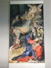 nativity, hand-painted ceramics, 2009