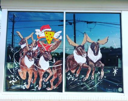 windows - pizza santa