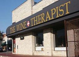 wine therapist lettering