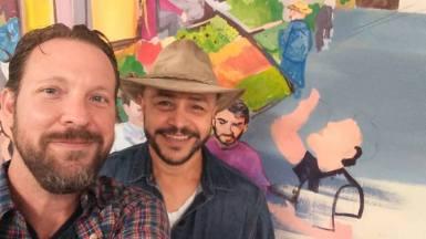 Gio's Mural w Jose 9.10.18