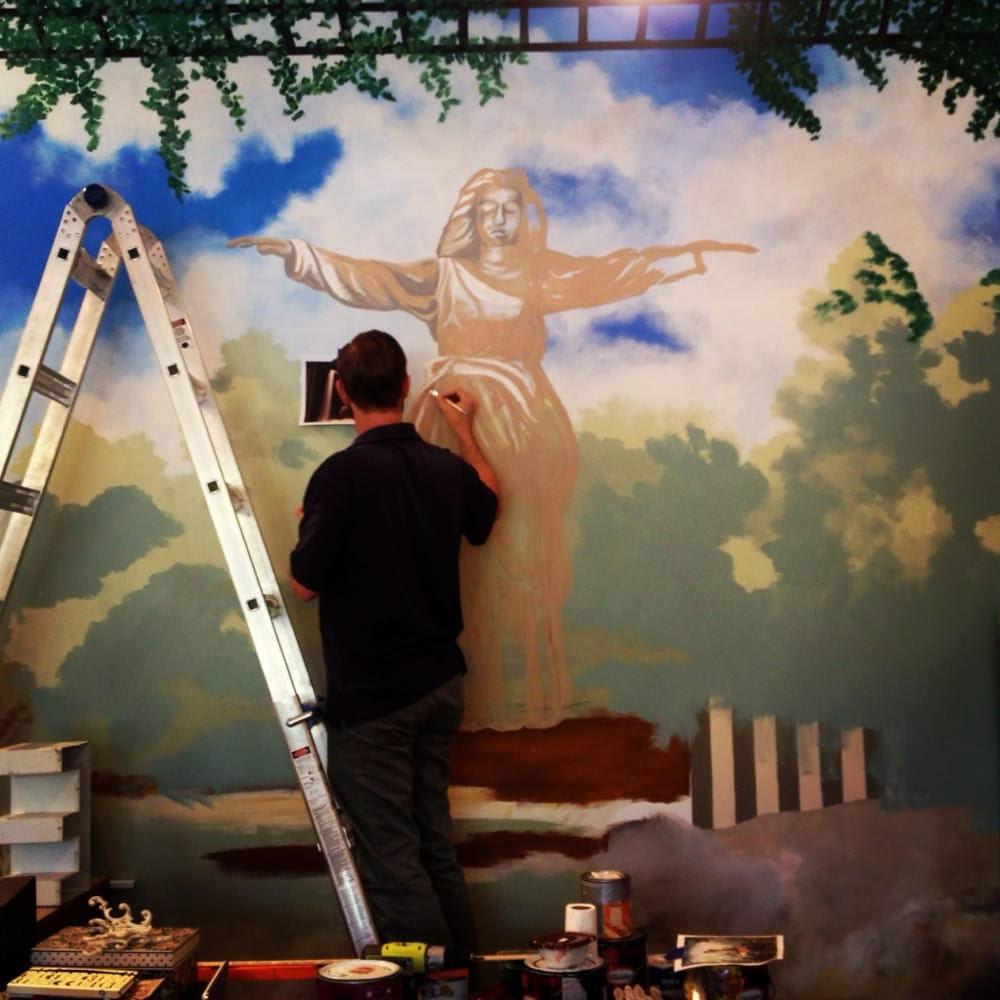 hinge mural